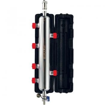 """Гідрострелка KOER KR.S1032 4/2 (з воздухоотвод. І дренаж. Краном) 1 """"НР SUS304 (KR2959)"""